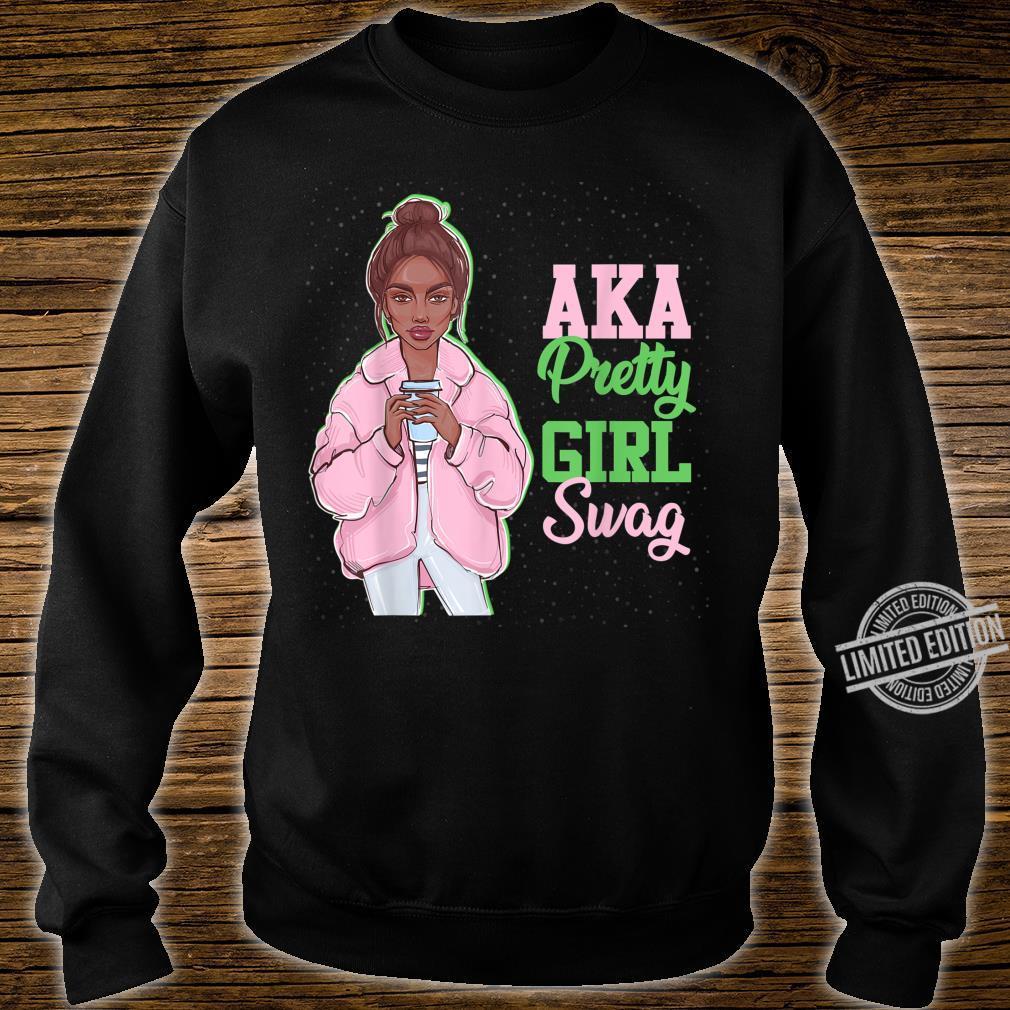 AKA Pretty Girl Swag Sorority Paraphernalia Alpha Kappa Shirt sweater