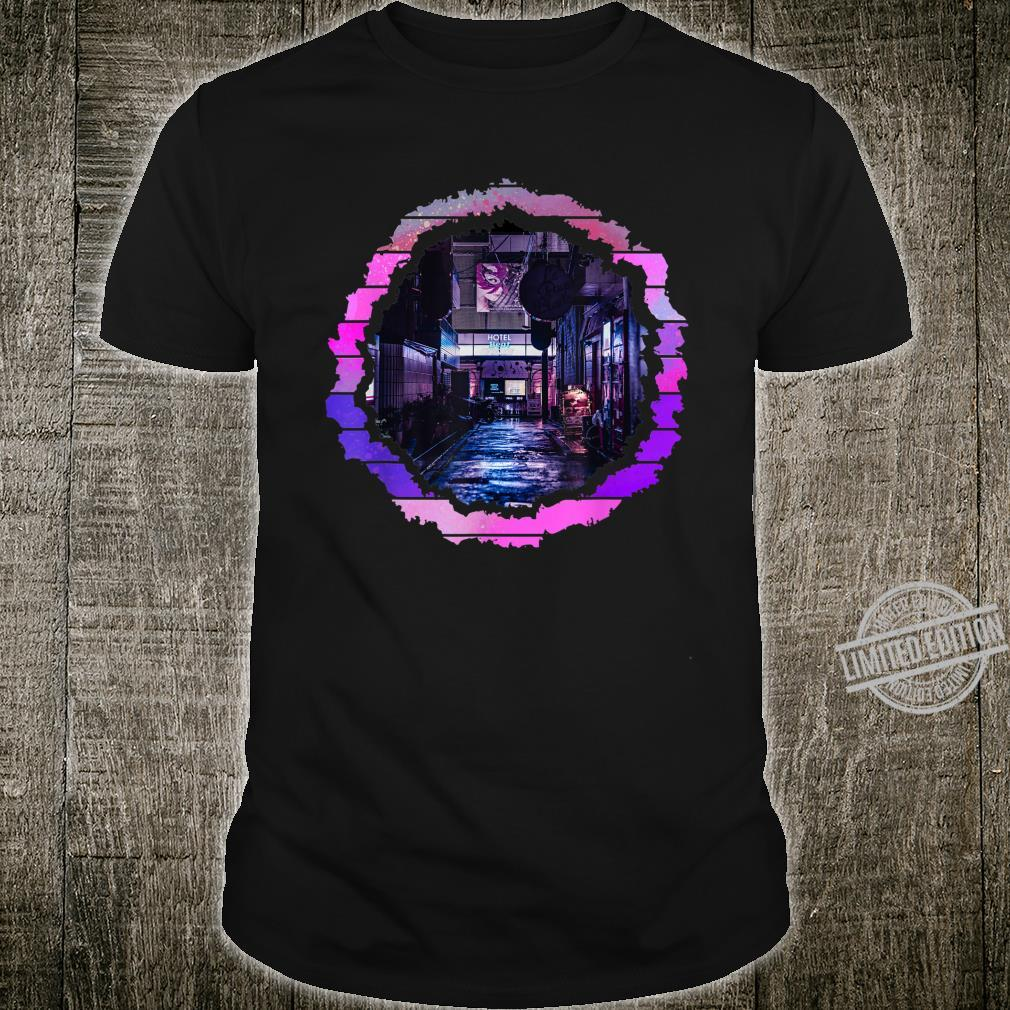 Abstract Lofi City Artwork Shirt