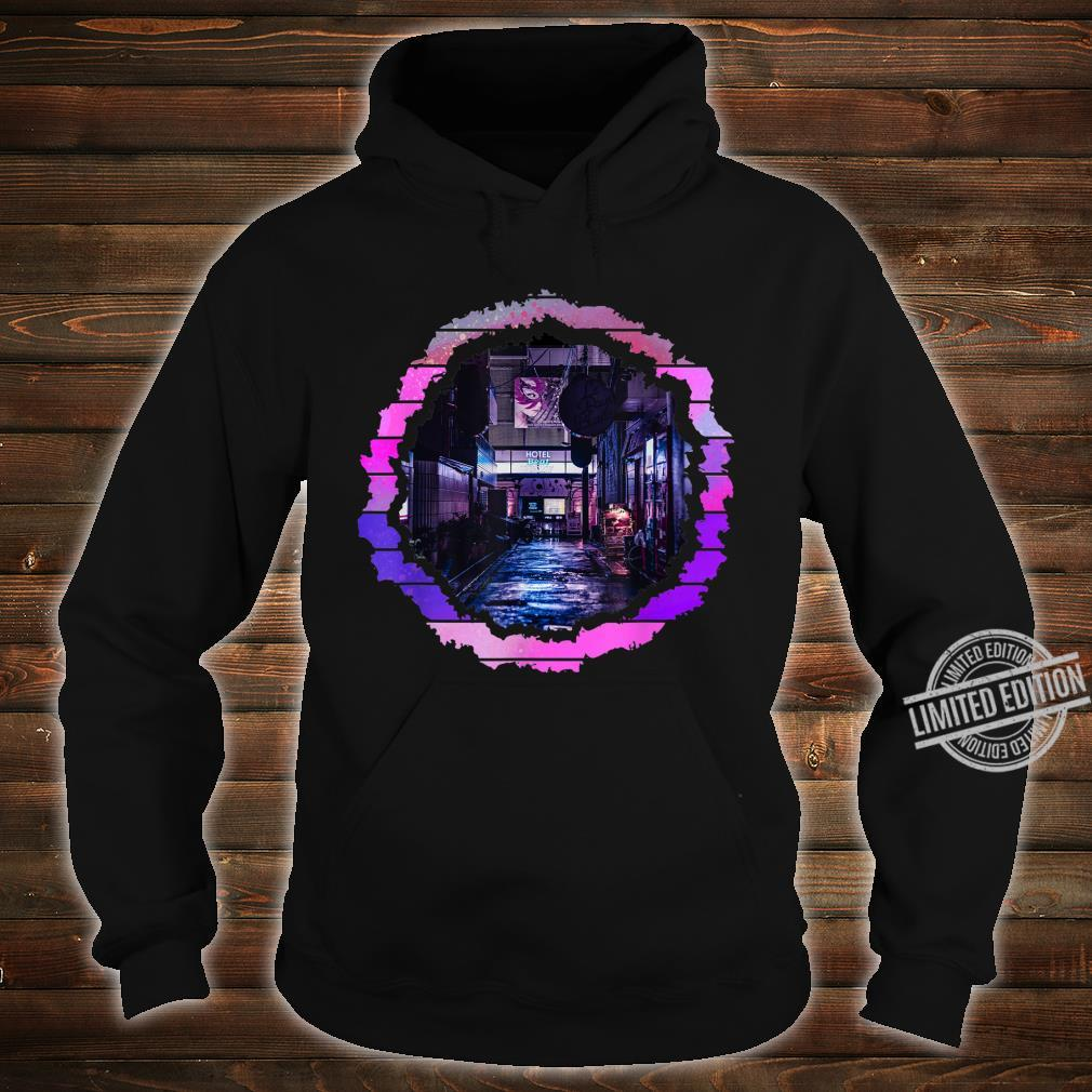 Abstract Lofi City Artwork Shirt hoodie