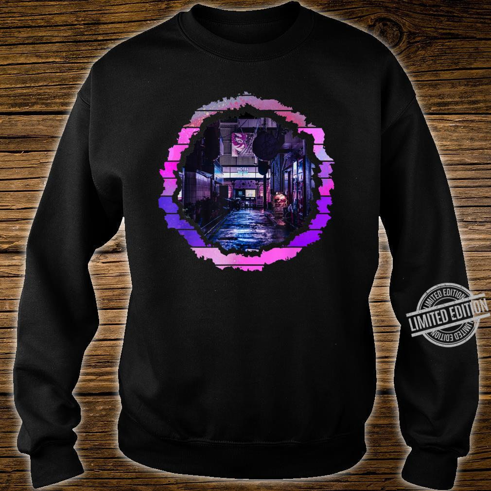 Abstract Lofi City Artwork Shirt sweater