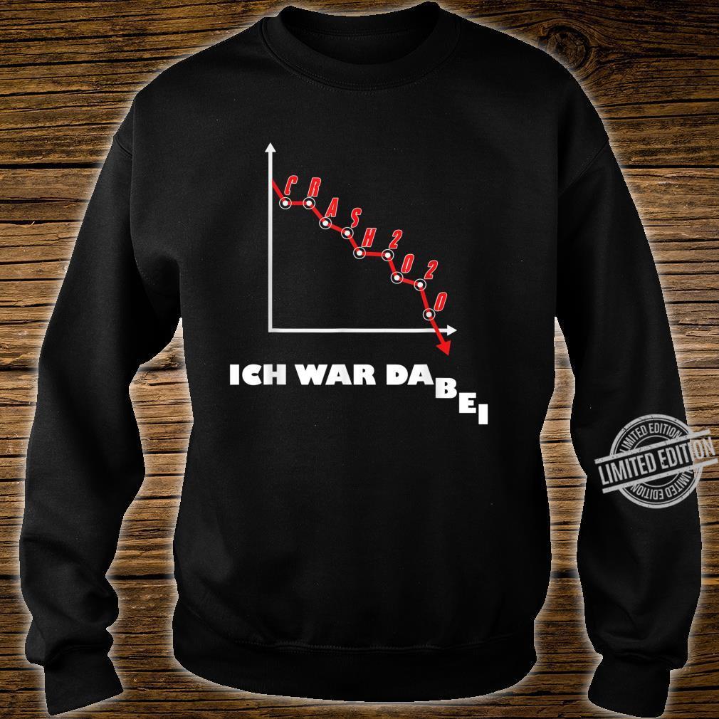 Aktien Börse Crash 2020 Börsencrash Geschenk Humor Design Shirt sweater