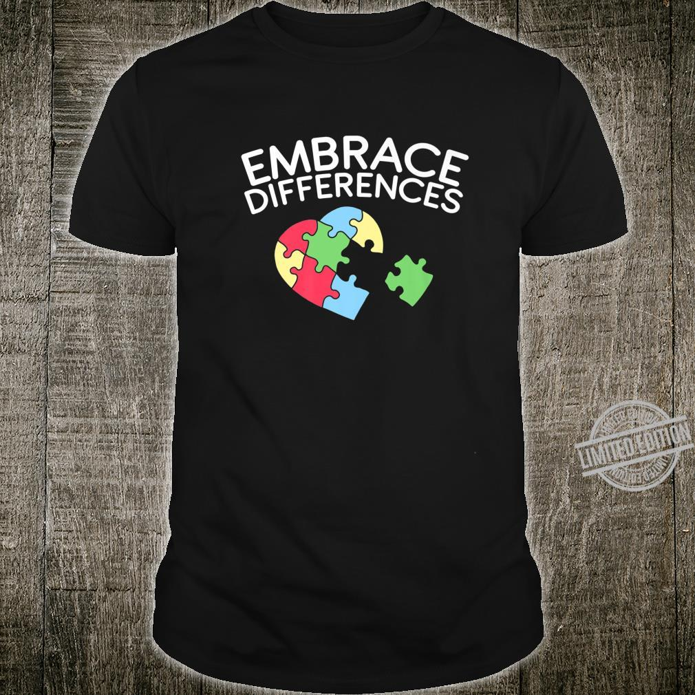 Autism Awareness For An Autistic Person Shirt