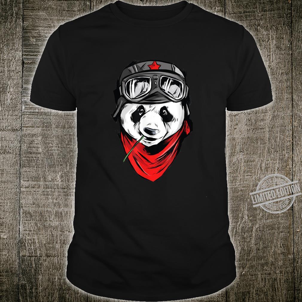 Aviator Panda Children's Shirt