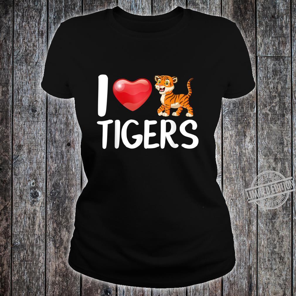 Baby Tiger Kostüm Baby Tiger Shirt ladies tee