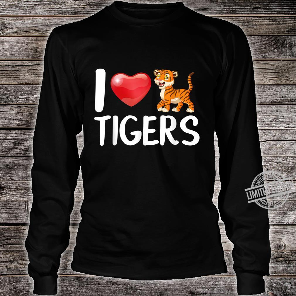 Baby Tiger Kostüm Baby Tiger Shirt long sleeved