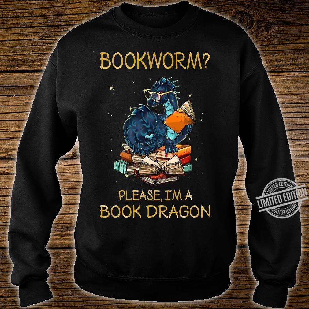 Bookworm Please I'm A Book Dragon Shirt sweater