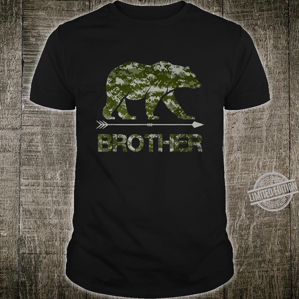 Brother Bear Camouflauge Father's Day Shirt