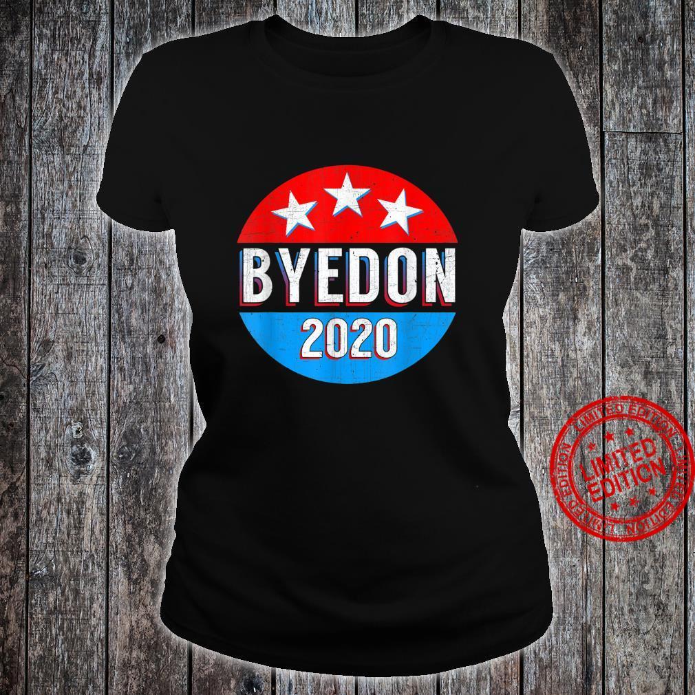 Byedon Anti Biden Pro Trump Republican Shirt ladies tee