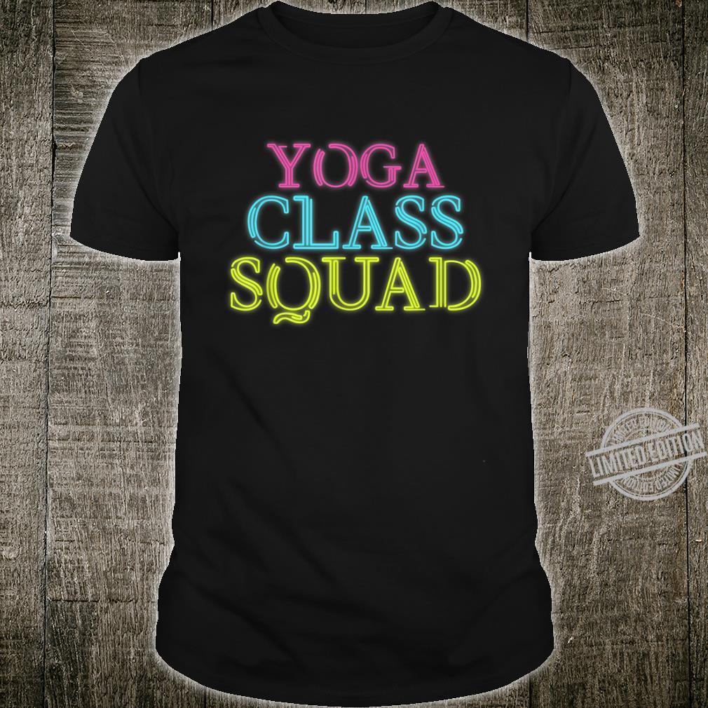Cheerful Squads Of Classes Of Yoga Artwork Shirt
