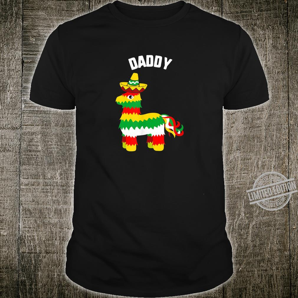 Cinco De Mayo Daddy Pinata Sombrero mexican fiesta Shirt