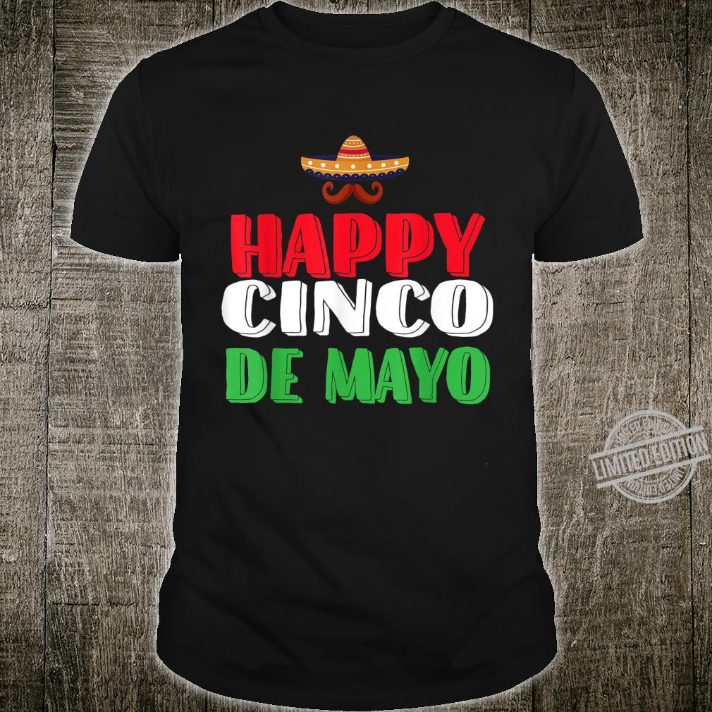 Cinco de Mayo Mexican Sombrero Shirt