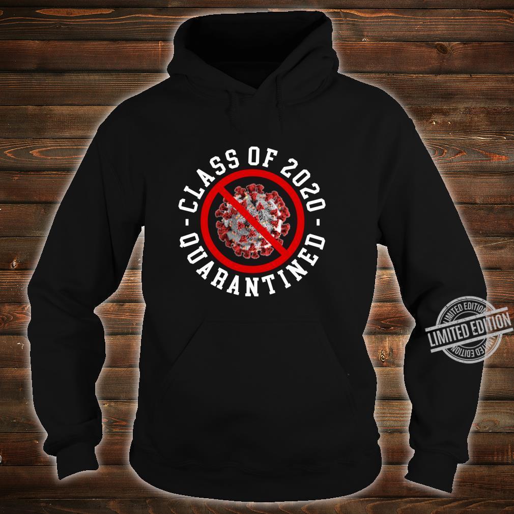 Class Of 2020 Quarantined Survived Flu No Virus Meme Shirt hoodie