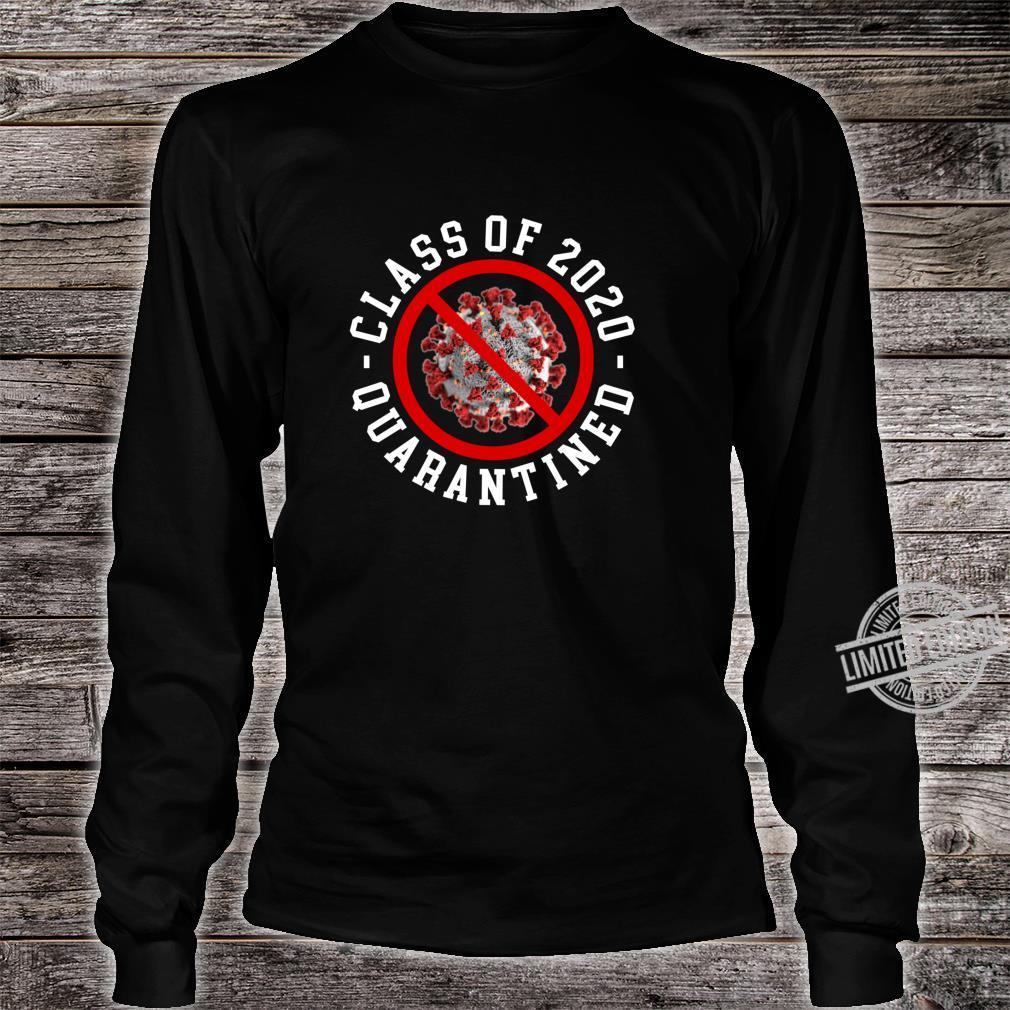 Class Of 2020 Quarantined Survived Flu No Virus Meme Shirt long sleeved