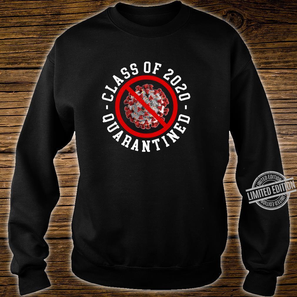 Class Of 2020 Quarantined Survived Flu No Virus Meme Shirt sweater