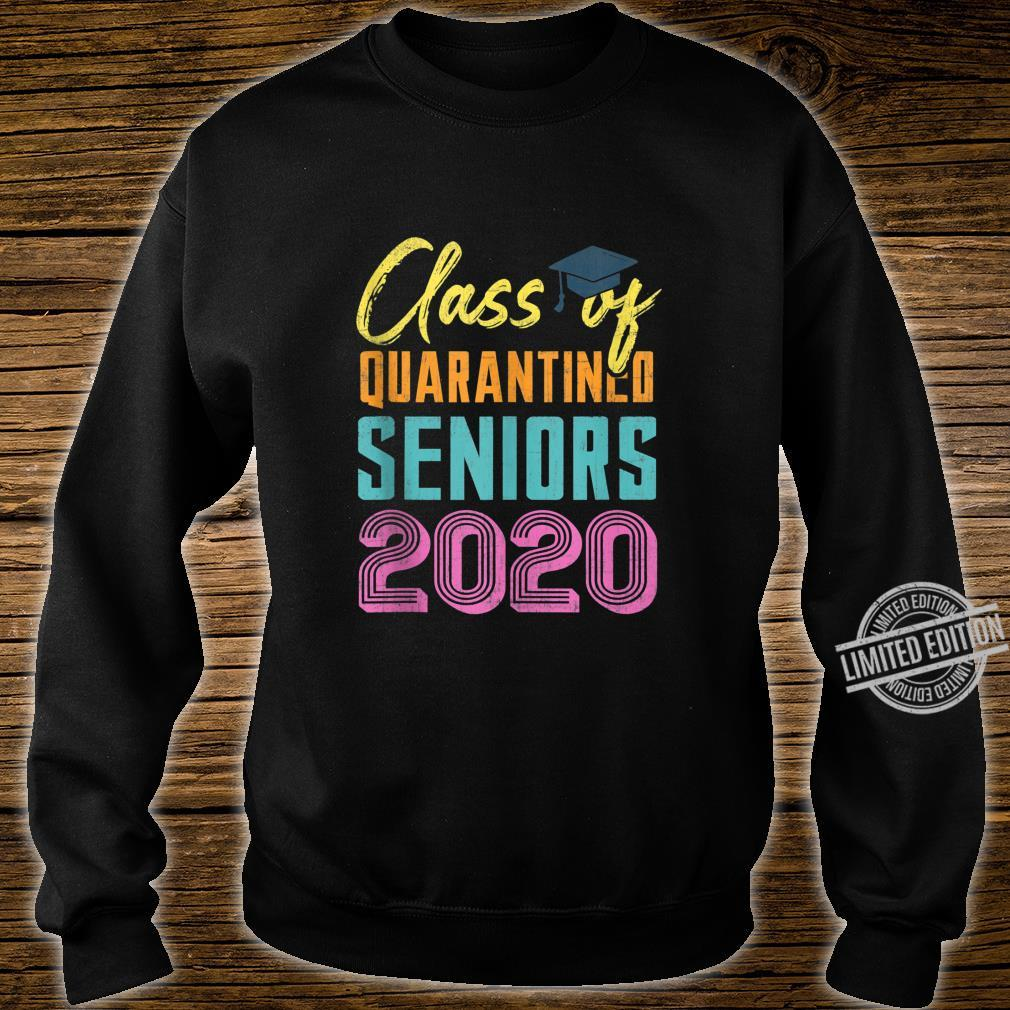 Class of 2020 Quarantined Seniors Flu Virus Quarantine Grad Shirt sweater