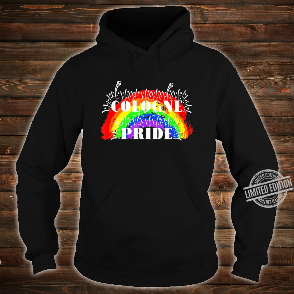 Cologne Gay Pride Rainbow Schwulenstolz Regenbogen Shirt hoodie