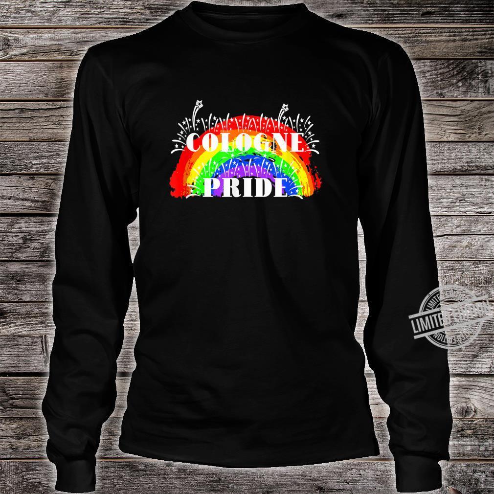 Cologne Gay Pride Rainbow Schwulenstolz Regenbogen Shirt long sleeved