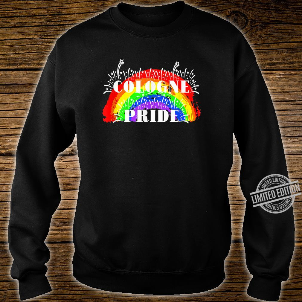 Cologne Gay Pride Rainbow Schwulenstolz Regenbogen Shirt sweater