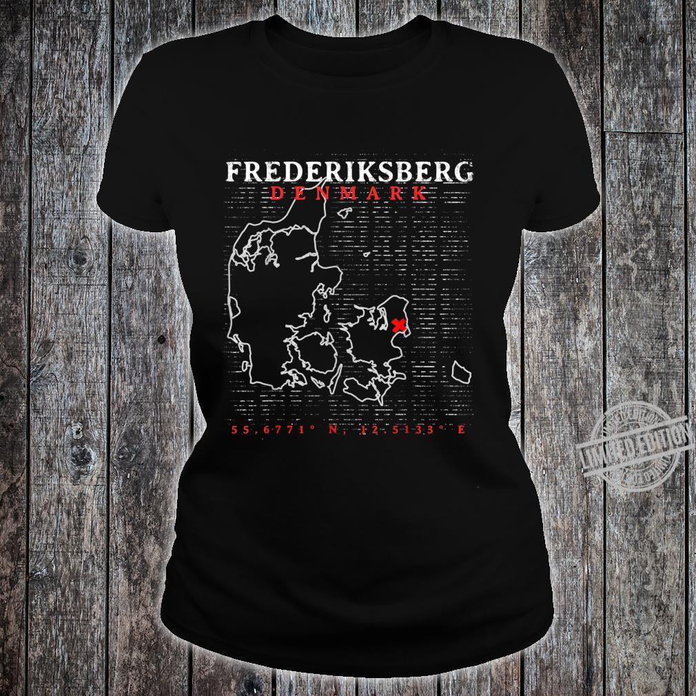 Denmark Frederiksberg Shirt ladies tee
