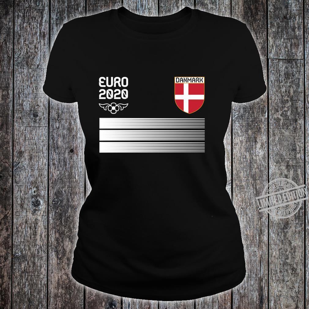 Denmark Fußballtrikot 2020 Danish Fußbal Langarmshirt Shirt ladies tee