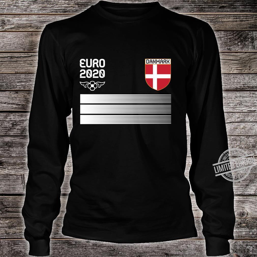 Denmark Fußballtrikot 2020 Danish Fußbal Langarmshirt Shirt long sleeved