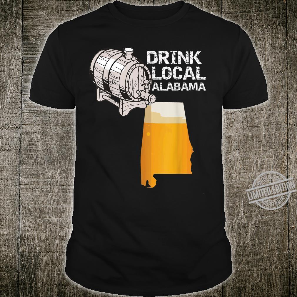Drink Local Craft Beer Alabama Cask Shirt