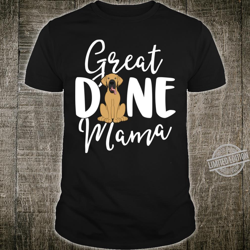 Fawn Great Dane Shirt