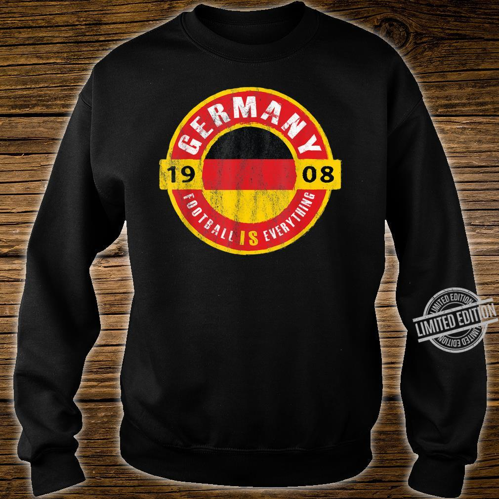 Football Is Everything Germany Flag Europe Vintage Shirt sweater