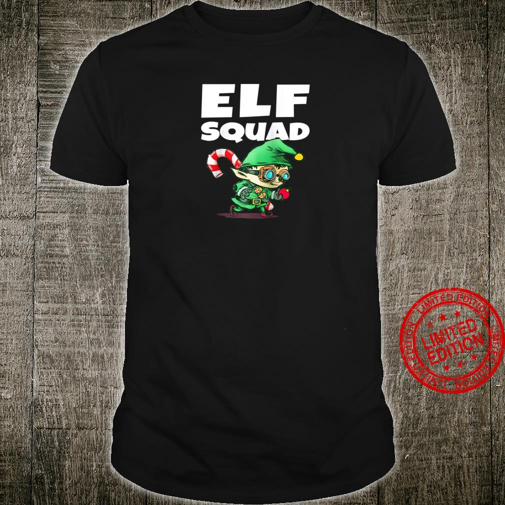 Funny Christmas Elf Squad Shirt