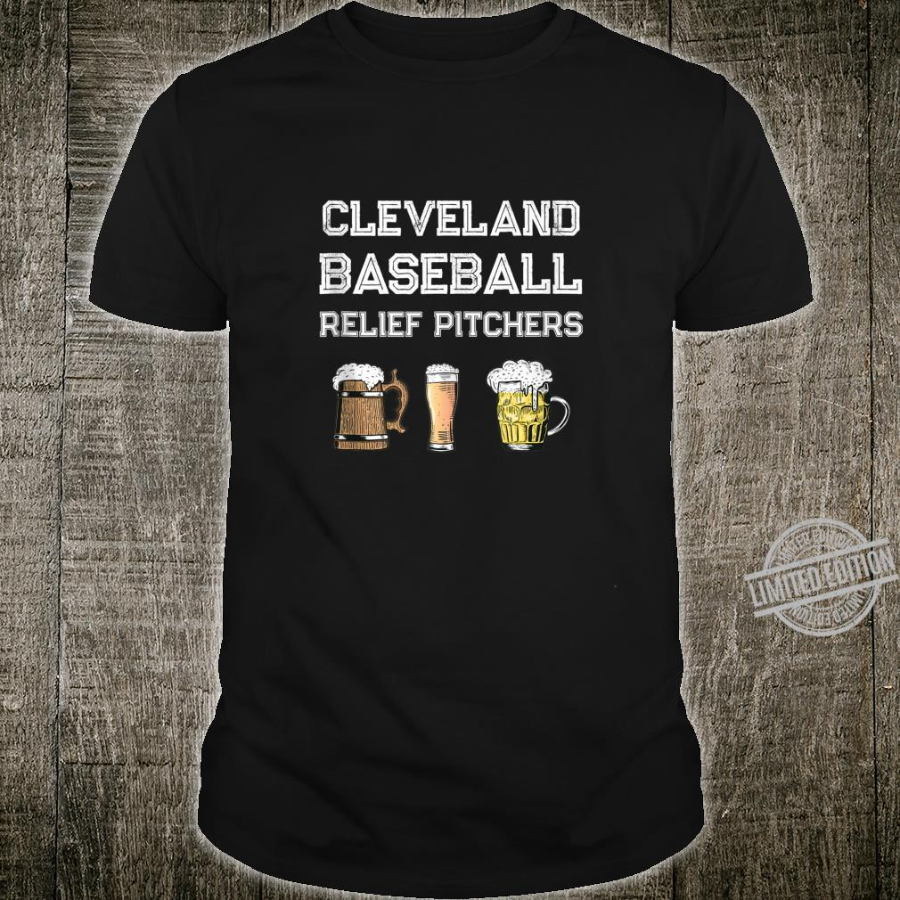 Funny Cleveland Ohio Baseball Fan Relief Pitcher Beer Retro Shirt