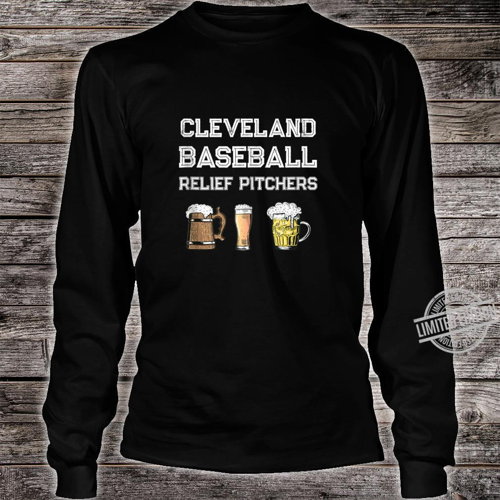 Funny Cleveland Ohio Baseball Fan Relief Pitcher Beer Retro Shirt long sleeved