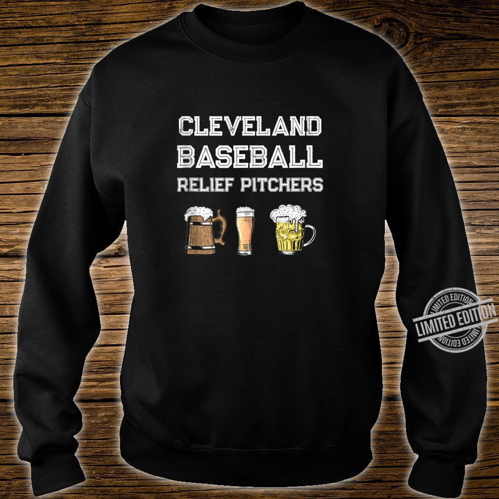 Funny Cleveland Ohio Baseball Fan Relief Pitcher Beer Retro Shirt sweater