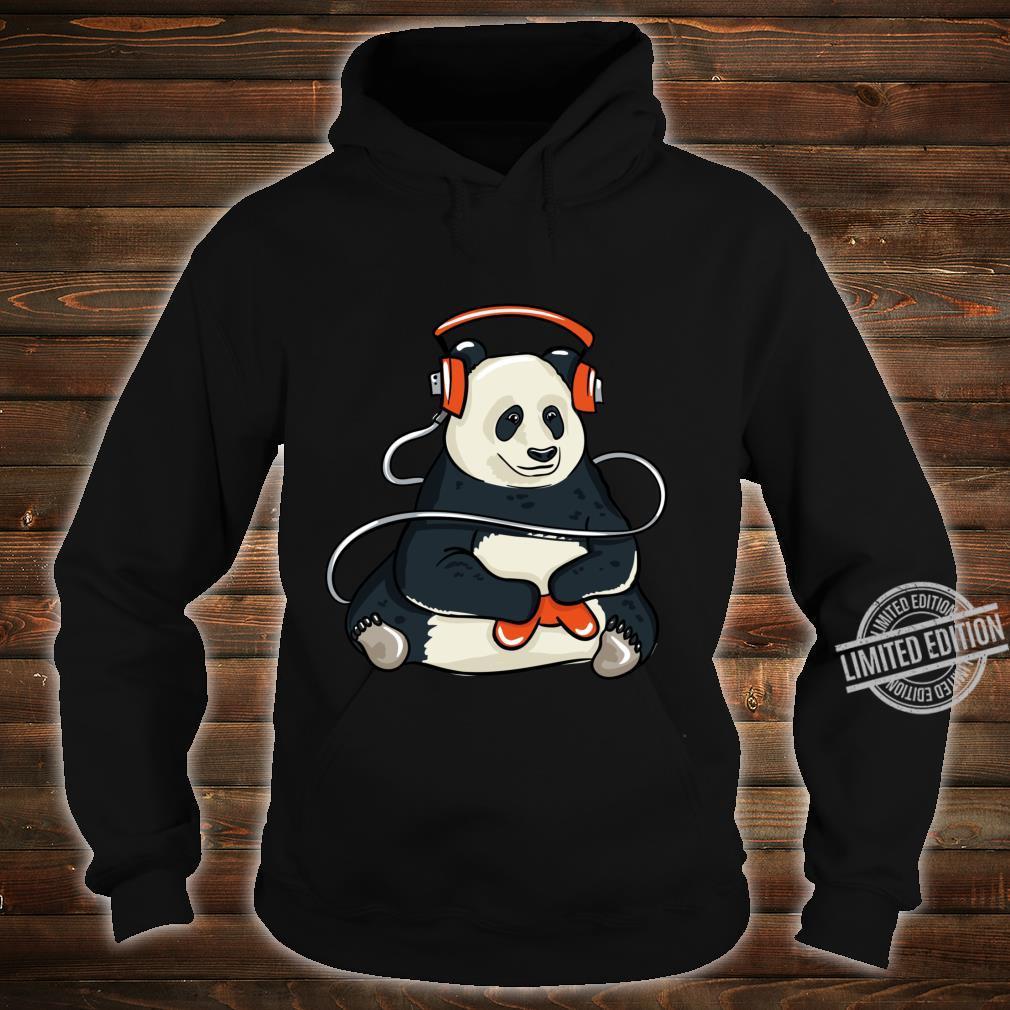 Funny Cool Gaming Panda Gift Video Gamer Shirt hoodie