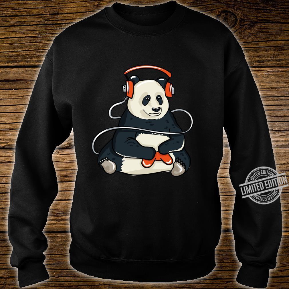 Funny Cool Gaming Panda Gift Video Gamer Shirt sweater