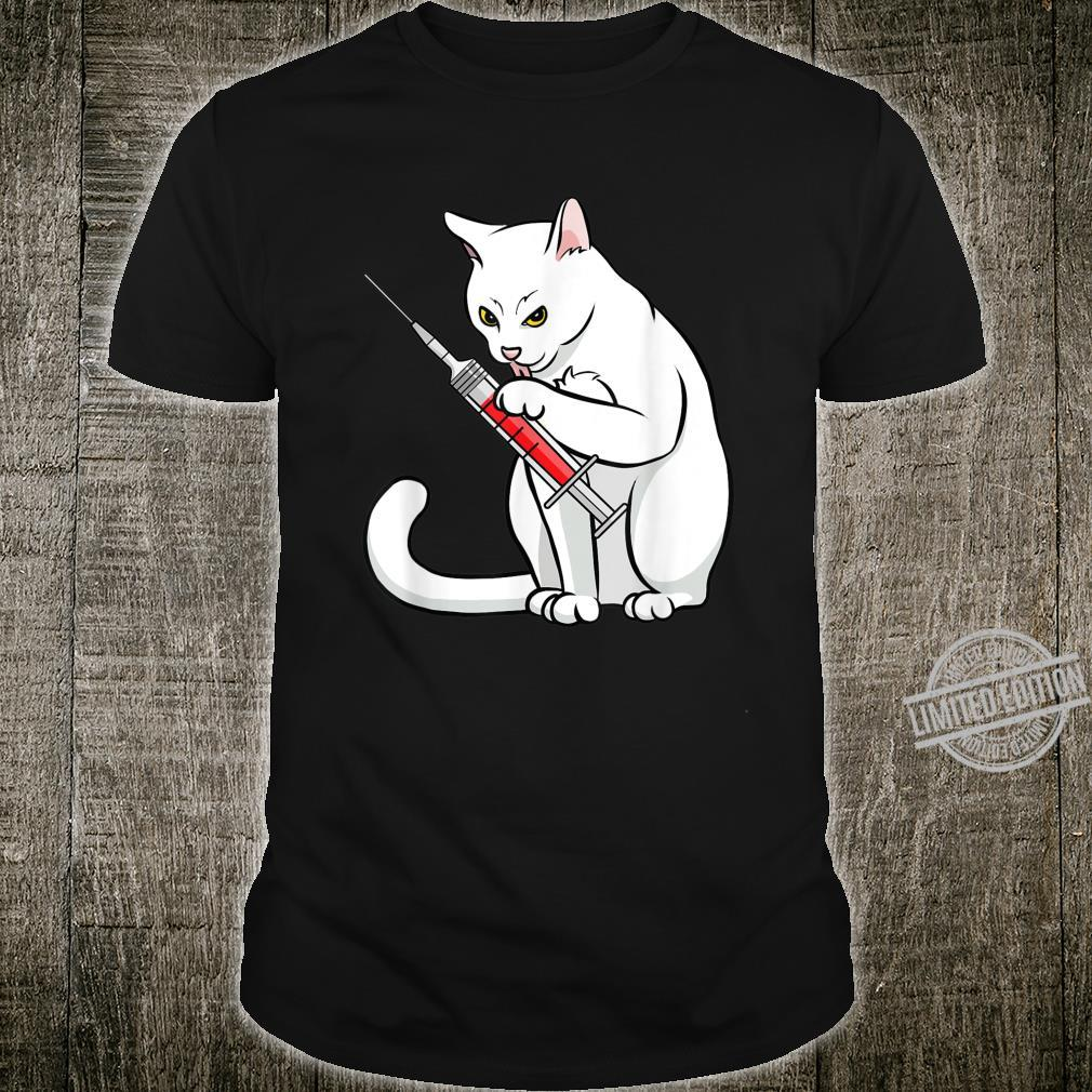 Funny Nurse Cat Shirt Cat Mom Cat Nurse Shirt