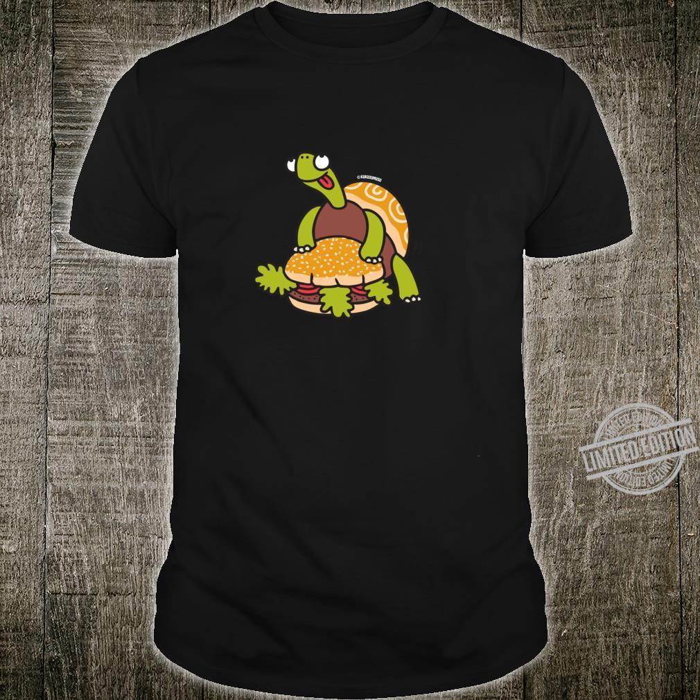 Funny Turtle Humping Burger Shirt
