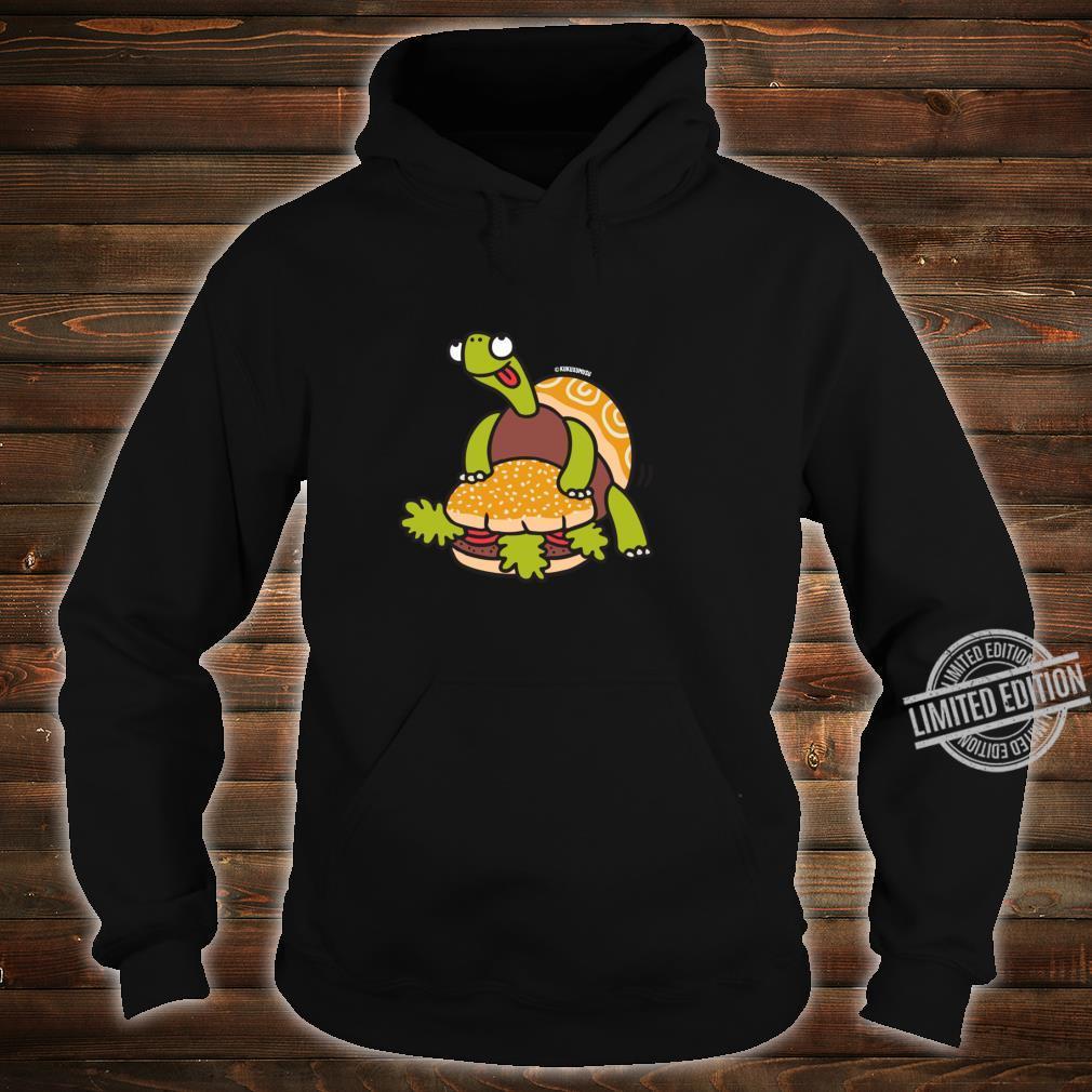 Funny Turtle Humping Burger Shirt hoodie