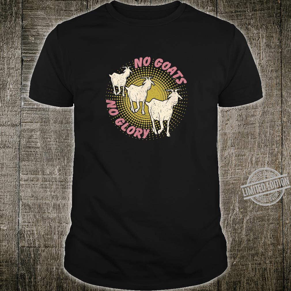 Funny cheeky retro for goats, goat fans Shirt