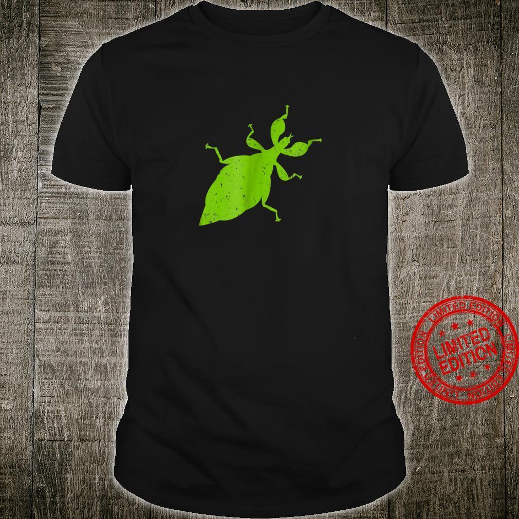 Giant Leaf Insect Phyllium Giganteum Bug Shirt
