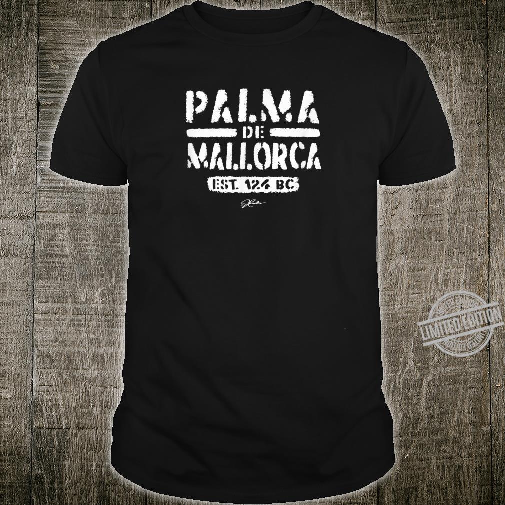 JCombs Palma de Mallorca, Est. 124 BC Shirt