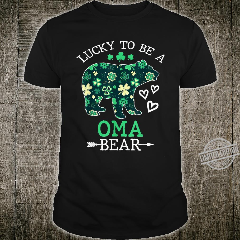 Lucky To Be A Oma Bear Shirt St Patrick Day Shirt