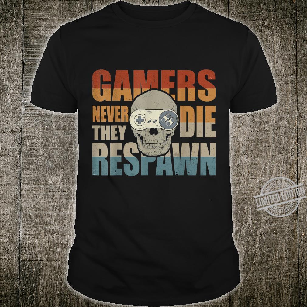 Lustiges Retro Gamer Vintage I Controller I Videospiele Shirt