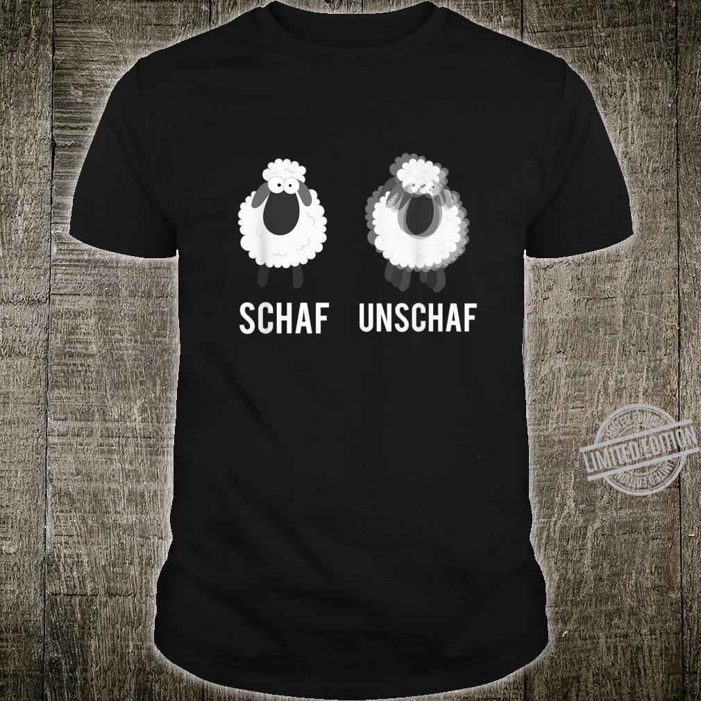 Lustiges Schaf Lanswirt Bauer Unschaf Wortspiel Geschenk Shirt