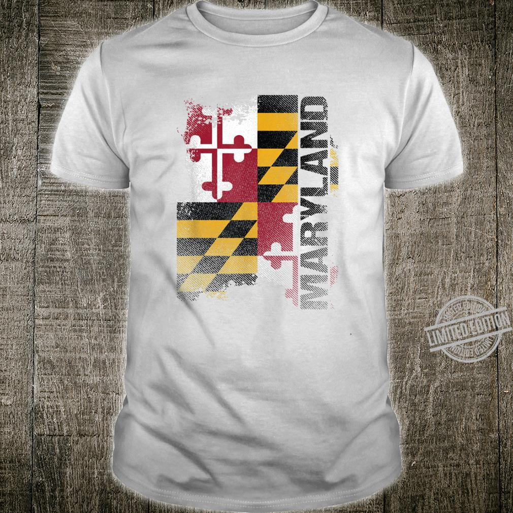 Maryland Souvenir State Flag Shirt