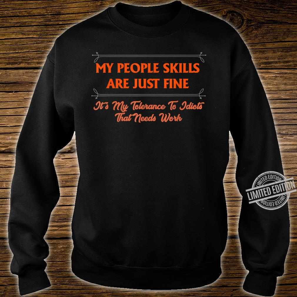 My People Skills Are Just Fine Boss Manager CoWorker Shirt sweater