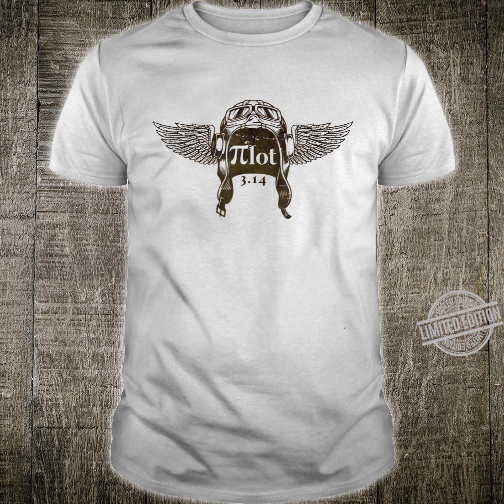 Pilot Aviators Math Geek Nerd Shirt