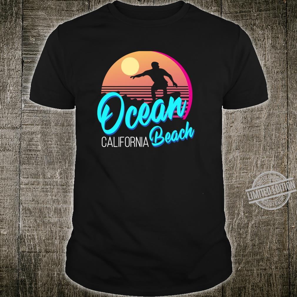 Retro Ocean Beach California Shirt