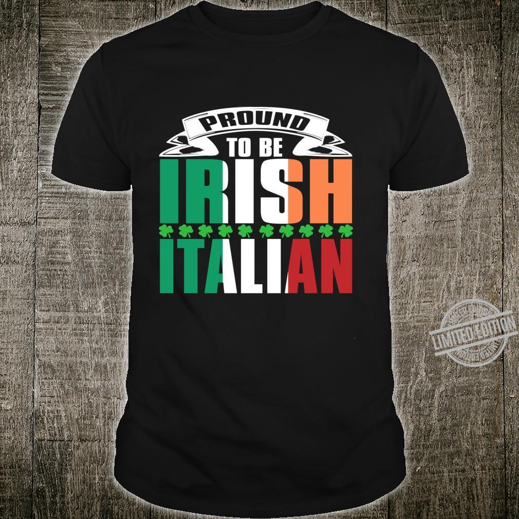 St. Patrick's Paddys Day Irish Italian Green Shamrock Shirt