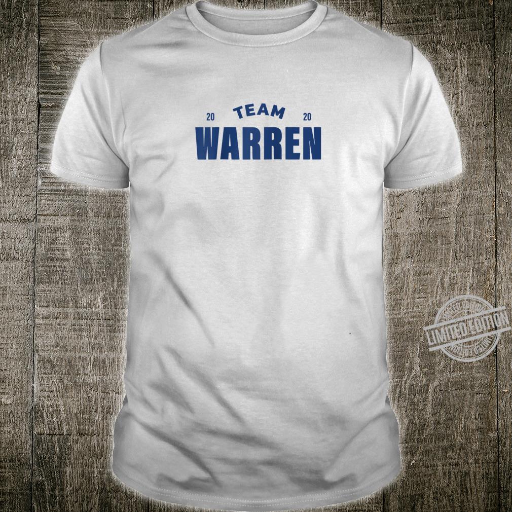 Team Warren 2020, Elizabeth Warren 2020 Shirt