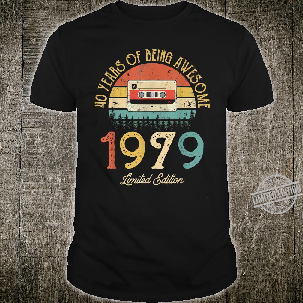 Test design birthday vintage retro 1979 Shirt